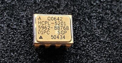 HCPL-5201 Avago Low IF Wide VCC Logic Gate Optocoupler 5962-8876801PC