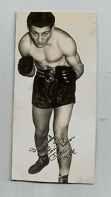 Boxing Autograph ,  Eric Boon.