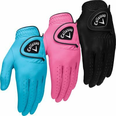 Callaway Damen Golf Leder Opti-Color Golfhandschuhe Linke Hand 1er Pack