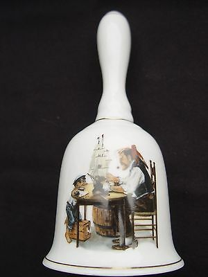 """1986 Norman Rockwell """"For a Good Boy"""" Collector Bell"""