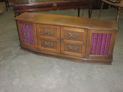Oak Stereo Cabinet Only For Local Pick-Up Only