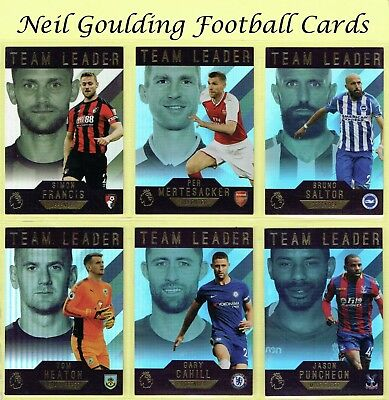 TOPPS PREMIER GOLD 2017-18 [2018] ☆☆☆ Team Leader ☆☆☆ Insert Cards #181 to #200