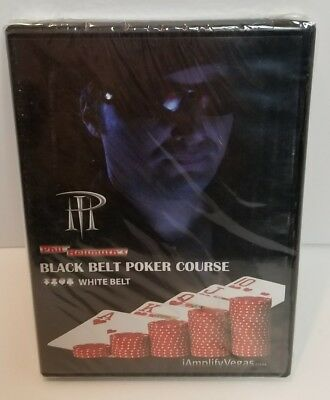 Phil Hellmuth's Black Belt Poker Course White Belt DVD Region 1 amplify vegas