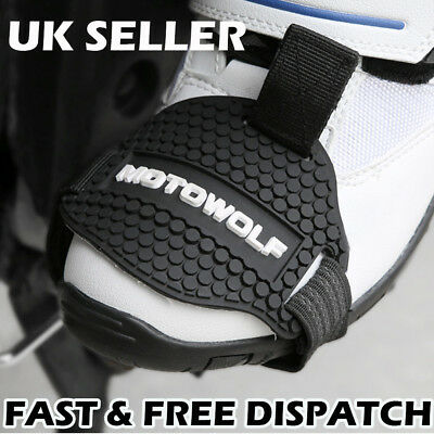 Motowolf Motorbike Motorcycle Gear Shift Protective Shoe Pad Boot Cover Guard