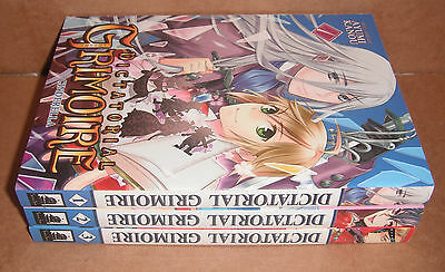 Dictatorial Grimoire Vol. 1,2,3 Complete Set Manga Graphic Novels Set English