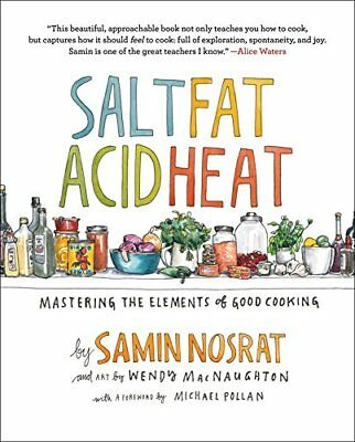 NEW Salt Fat Acid Heat: Mastering the Elements of Good Cooking FREE SHIPPING