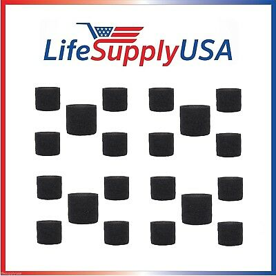 20 Pack Foam Sleeve Filters fit Shop Vac 90585, 9058500, 905-85, Type R + most