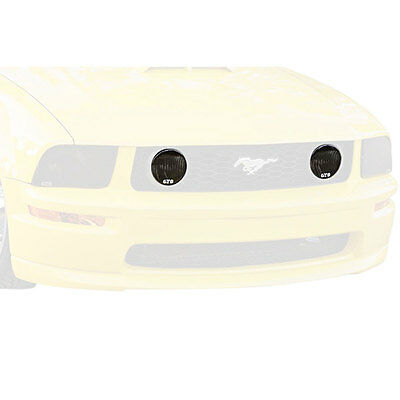 GTS GT041FS Mustang Fog Light Cover Smoked Pair GT 2005-2009