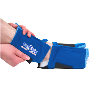 Soft Gel Hot Cold Foot and Ankle Ice Wrap by Cool Relief
