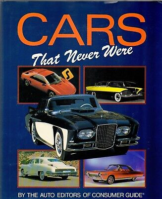 Cars That Never Were Hardcover BOOK