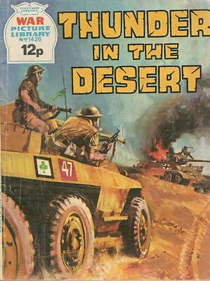 1977  No 1426 33069 War Picture Library  THUNDER IN THE DESERT