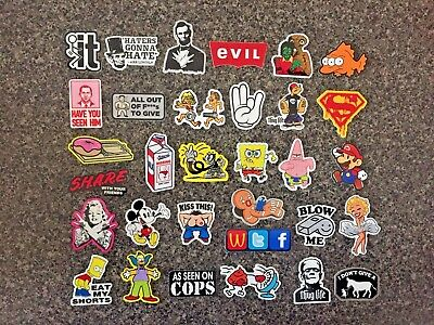 SUPER DUPER FUNNY Hard Hat Stickers 31+ HardHat Decals, Helmet, Flask & Tool Box