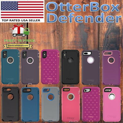 Otterbox Defender Case Cover for Apple iPhone 8 7 6s SE & iPhone 8 7 6s Plus