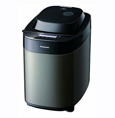 Panasonic Bread Maker Black Stainless Steel with 37 Programs SD-ZX2522KXC