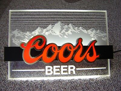 Vintage 1990 Coors Light Quot The Silver Bullet On Tap Quot Wall