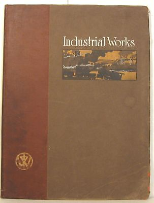 1911 Industrial Works (Bay City MI) railroad and commercial cranes catalog