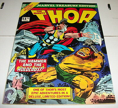 Marvel Treasury Edition #10 - The Mighty Thor - Jack Kirby Covers - 1976