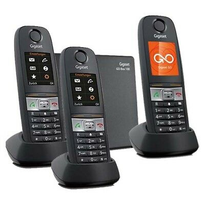 Gigaset E630A GO Tough Cordless Phone - Triple Kit with GEN GIGASET WARR