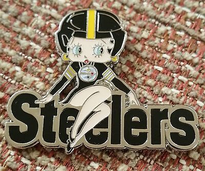 PITTSBURGH STEELERS BETTY BOOP Lapel Pin