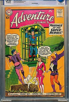 Adventure Comics #267 (1959) CBCS 5.0 VG/F OW 2nd App. Legion of Super Heroes !