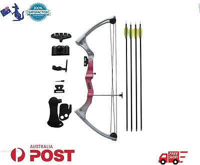 Magnesium Alloy Adjustable Junior Kid Compound Bow Archery 15 - 20 LBS