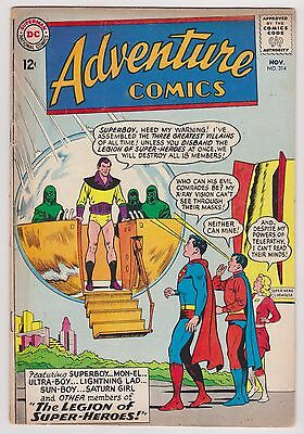 Adventure Comics #314 - Superboy & The Legion of Super-Heroes, Very Good - Fine!