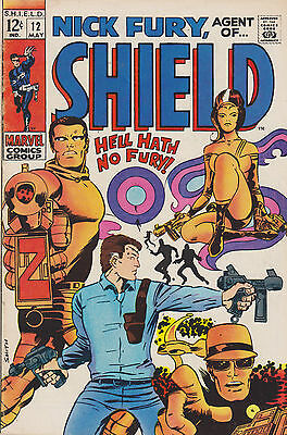 Nick Fury, Agent of SHIELD #12, Very Fine Condition!