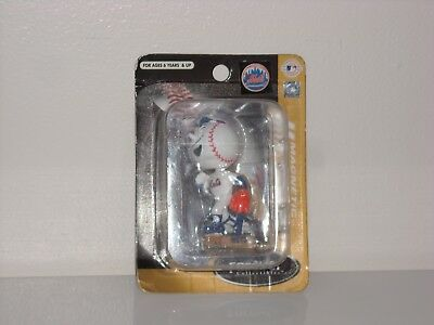MR. MET New York Mets Mascot MINI Magnetic Bobble Head 2003 Limited Edition New*