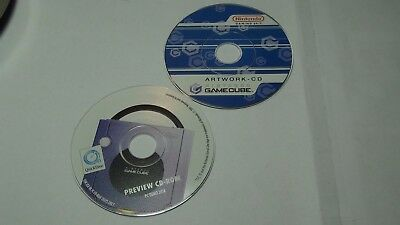Nintendo Game Cube 2 Presse CDs Artwork, Fotos, Logos, Fotos div. mehr
