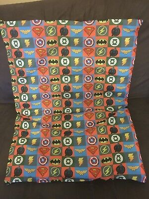 Super Heroes Dog, Pram or Bassinet Quilt