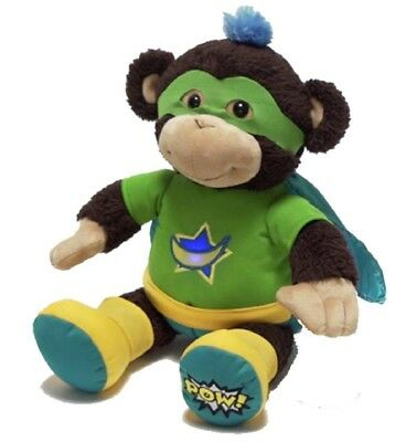 Max the Wonder Chimp Superhero Interactive Animated Talking Toy Monkey