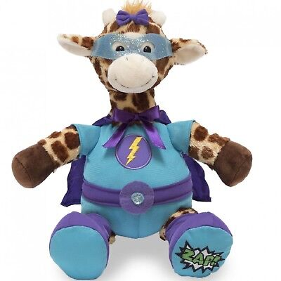 Gigi the Great Giraffe Superhero Interactive Animated Talking Toy Animal