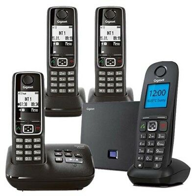 Gigaset A540IP + A220ATRIO Phone Quad Kit with GEN GIGASET WARR