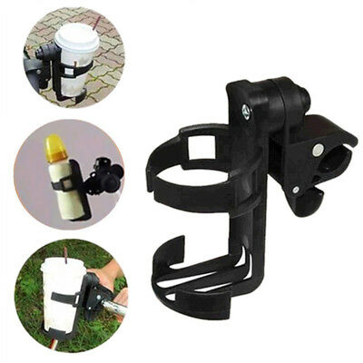 Pushchair Carriage Cart Infant Stroller Plastic Bottle Cup Holder Stand Rack DRW