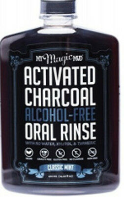 NEW My Magic Mud Activated Charcoal Oral Rinse Mint ~ 420ml