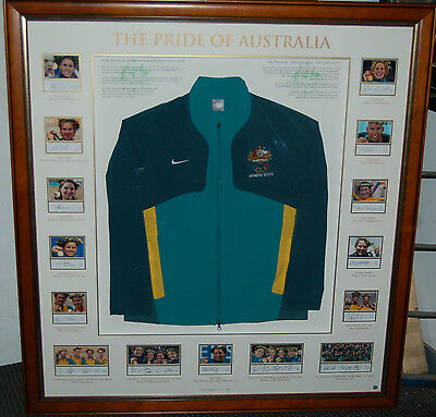 Pride Of Australia Signed Limited Edition 2004 Olympics Gold Medallist Jacket
