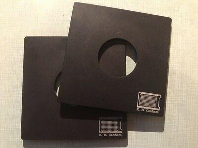 "Canham Lens Board Copal #1 for DLC 4x5"" Compatible with Toyo 110x110mm"