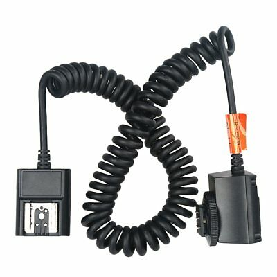 Godox TTL Off Camera Hot Shoe Flash Sync Cable Cord For Nikon Speedlite