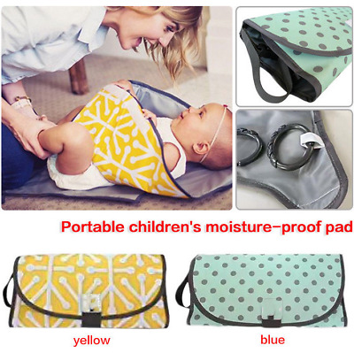 Portable Clean Hands Changing Pad 3-in-1 Baby Changing Station Diaper Clutch  UK