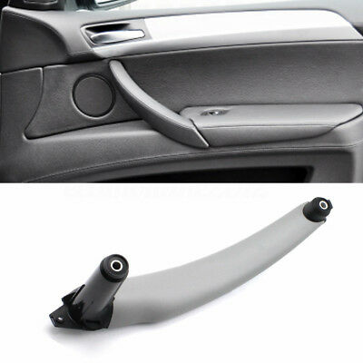 Gray Right Inner Door Panel Handle Pull Trim Cover Fit BMW E70 X5 51416969406