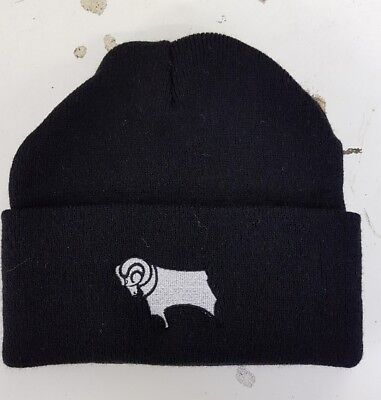 Derby county wooly HAT Beanie hat The Rams