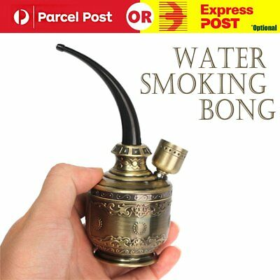 Mini Water Bong Herb Smoking Pipe Tobacco Smoke Hookah Shisha Nargila
