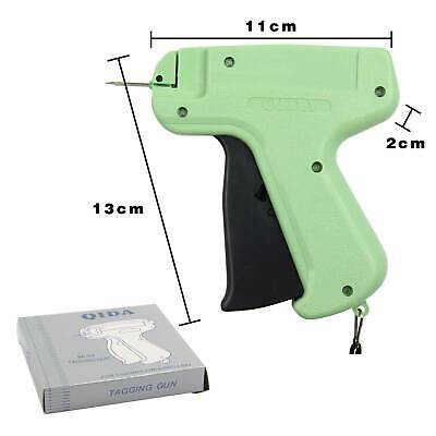 Tagging Gun +5 Steel Needle +1000 Kimble Tag Plastic Lightweight Tag For Clothes