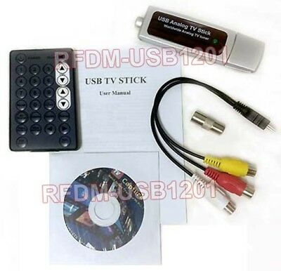 Universal USB-Based RF Demodulator + MPEG Video Capture Digital Video Recorder