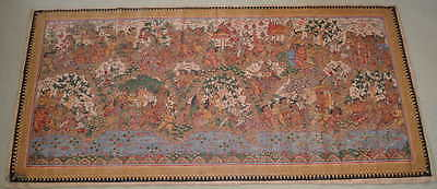 Decorative wall hanging from Kamasan village, Bali - Indonesia Indonesie 1977