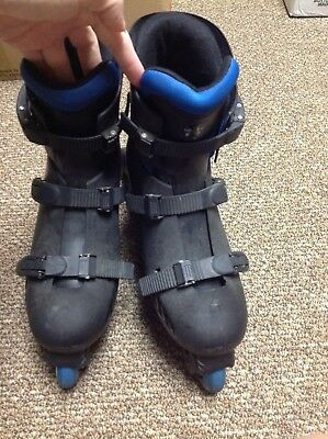 Hawk Roll USA INLINE SKATES ROLLER BLADES ADJUSTABLE ADULT SIZE 8