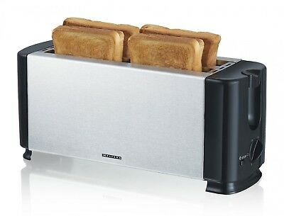 4 scheiben edelstahl profi toaster toastautomat 4 schlitz 145 1750 watt eur 80 49 picclick de. Black Bedroom Furniture Sets. Home Design Ideas