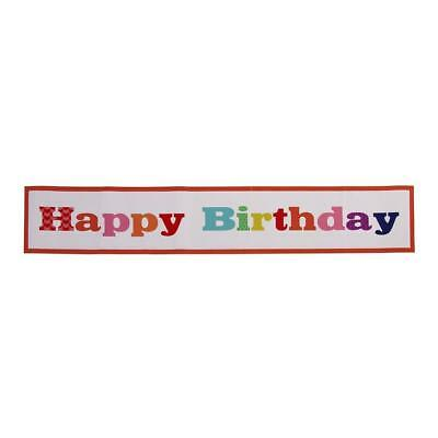 Large Happy Birthday Bash Giant Party Room Banner