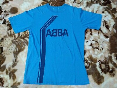 ABBA t-shirt JAPAN Thank You For The Music official