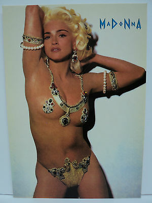 Cpm Musique Cinema Erotisme Madonna En Danseuse Du Ventre / Belly Dancer
